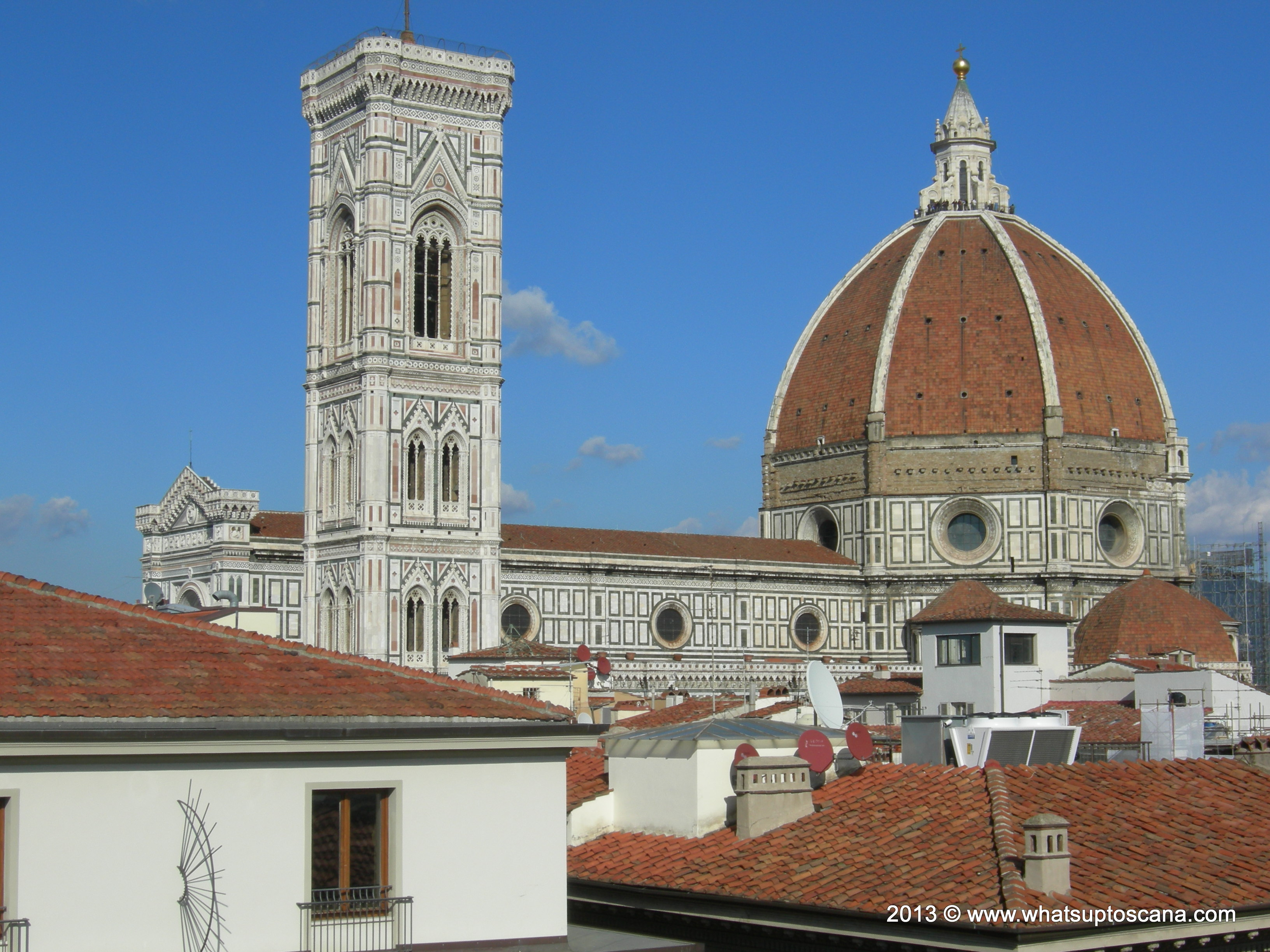 La Terrazza Coffee Espresso And Townscape On A Florence